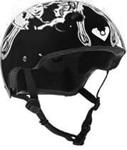 Viking Adjustable Size Bike & Skateboard Helmet (Viking Skull)