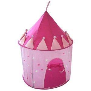 Imagen principal de Bieco 22-000010 - Tienda de juegos con diseño de castillo de princesas, color rosa