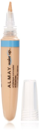 Almay Wake Up Undereye Concealer, Light Medium, 0.22 Fluid Ounce
