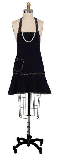 Kay Dee Designs Black Pearls Girly Apron