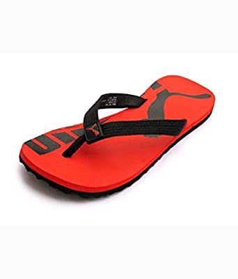 Puma John Red Flip Flops