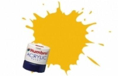 Humbrol Acrylic Paint, BR Yellow