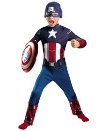 Captain America Movie Classic Costume - Medium