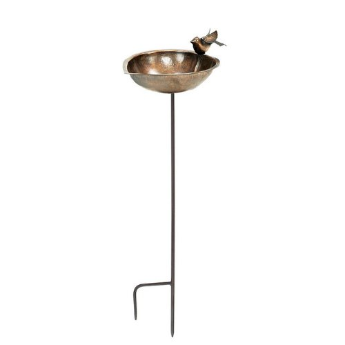 Achla Designs Heart Shaped Birdbath with Stand