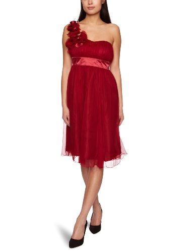 Fever Ivy Women's Dress Merlot 12