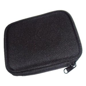 """Travel Carry Case Pouch for 2.5"""" Portable Hard Drives - Red Color"""
