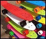 WCPスケートボード22インチ日本最強全13色 【11色+2蛍光色】安心のPL保険加入済み ウィ―ルレンチ付き【初心者におすすめ】