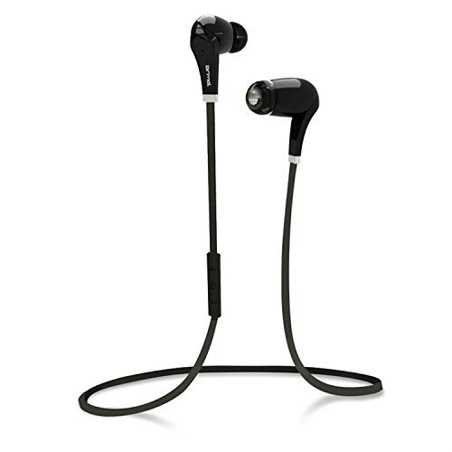 Creddeal Sports Wireless In-Ear Foldable Bluetooth 4.0 Wireless Hi-Fi Stereo Headphones Earphones With Noise Cancelling For Apple Iphone/Ipad/Samsung Smartphones And Tablets.