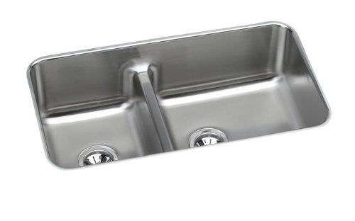 Lowest Price! Elkay ELUHAQD32179 Gourmet Undermount Sink
