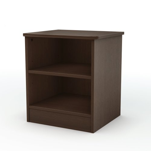 South Shore Libra Collection Night Stand, Chocolate