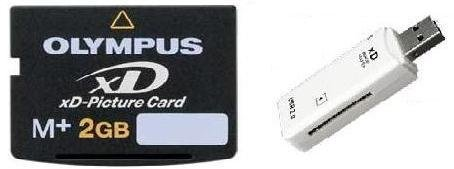 how to read olympus xd picture card