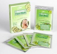 5 + 5 FREE Beauty Face Masks with Cucumber and Collagen Essence