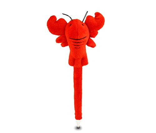 Puzzled Lobster Plush Pen