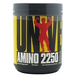 Universal Nutrition Amino 2250 180 Tabs Amino Acids
