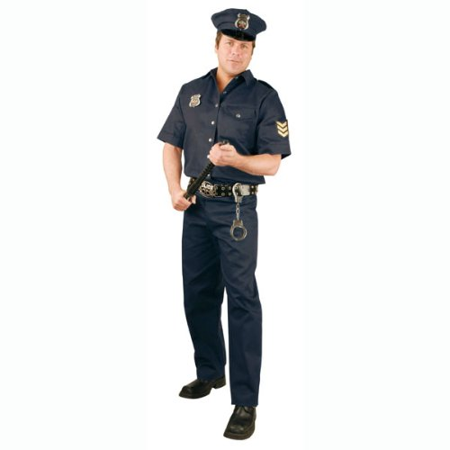 Police Officer Plus Costume (Women's Adult Costume)