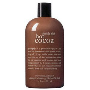 philosophy | double rich hot cocoa | ultra-rich 3-in-1 shampoo, body wash, and bubble bath