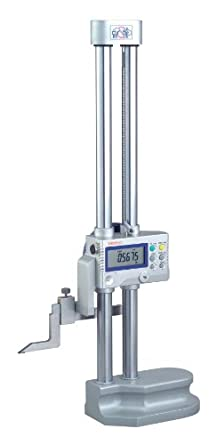 "Mitutoyo 192-670-10, Digimatic Height Gage, 12""/300mm X .0005""/.0002""0.01mm/0.005mm, With Output and Touch Probe Port"
