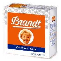 Brandt Zwieback Rusk Toast - 8 oz - 1