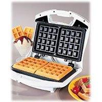 Proctor Silex 26000 Belgian Waffle Maker, White