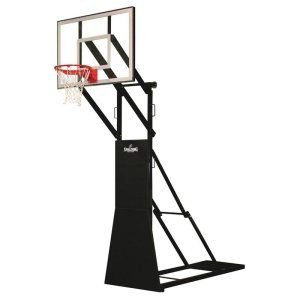 Street Tournament Side Court Portable Basketball Backstop from Spalding by Spalding