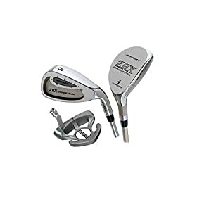 Affinity Ladies-ZRX Graphite Shafted Woods & Irons Completel Set w/ Cart Bag