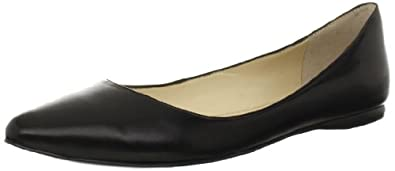 Nine West Women's Speakup Flat,Black Fresh Kid,8.5 M US