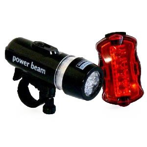 Superhelles LED Fahrradlampen Set!!! SEHR HELL!BLACK PB AUSVERKAUFSPREIS