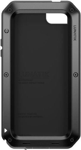 Special Sale Lunatik TT5L-001 Taktik Strike Impact Protection System for iPhone 5 - 1 Pack - Retail Packaging - Black