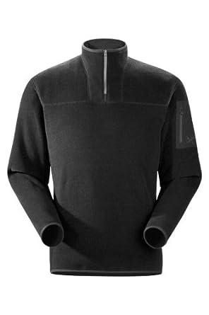(降价)Arc'teryx Men's Covert Zip Neck始祖鸟男士抓绒衣 $103.35 认证第三方发售蓝
