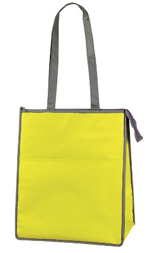 Jumbo Fashion Insulated Hot/cold Cooler Tote Bag (Yellow)
