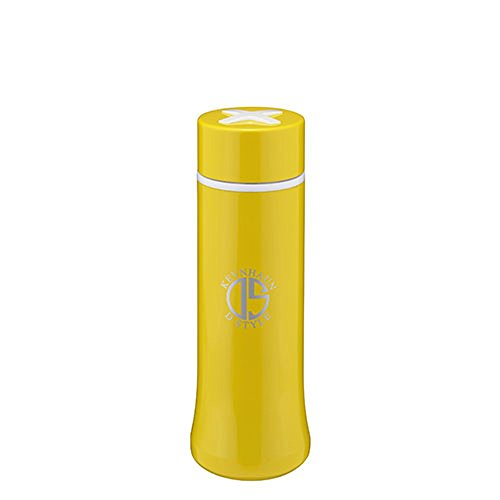 KEVNHAUN スリムマグボトル 300ml ステンレス 保温 保冷 水筒 魔法瓶 ケヴンハウン (300ml イエロー) ss-smb300-300ml-kds617