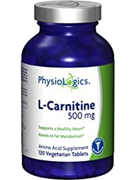 Physiologics - L-Carnitine 500 mg 120 tabs [Health and Beauty]
