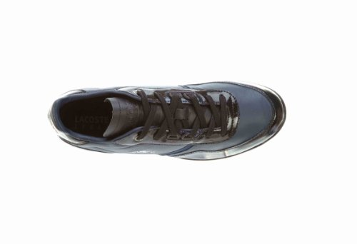 Lacoste Lacoste Men's Wolcott Ml Sneaker (11, Black- Blue 1Z2)