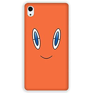 Mott2 OrangeFace Back cover for Sony M4 (Limited Time Offers,Please Check the Details Below)
