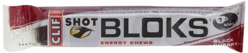 Clif Shot Bloks , Black Cherry, 18 Count
