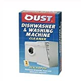 OUST DISHWASHER WASHING MACHINE CLEANER 2 SACHETS - 2 SACHET