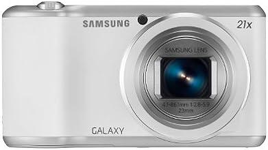 Samsung Galaxy Camera 2 Appareil photo numérique compact Ecran LCD 4,8'' (12,2 cm) 16,3 Mpix Zoom optique 21x USB Wi-Fi Blanc