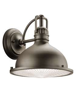 Kichler 49067Ozled Hatteras Bay 28 Light Led Outdoor Wall Sconce In Olde Bronze,