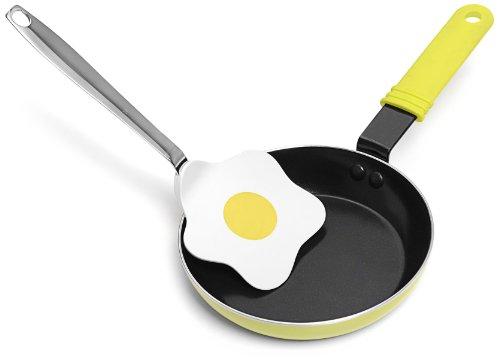"""IPAC, Padella """"Ovetto"""" con paletta a forma di uovo"""