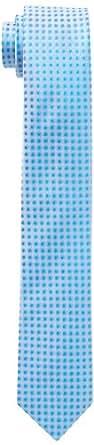 Venti Herren Krawatte 001190/102, Gepunktet, Gr. One size, Blau (blau 102)