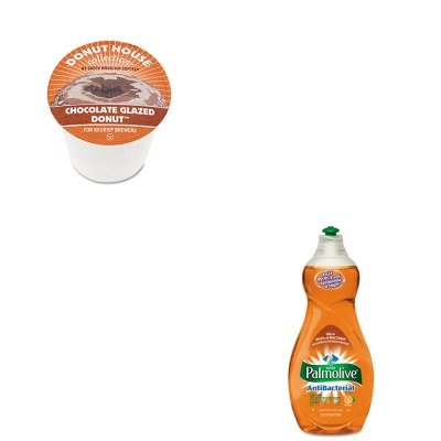 Kitcpm46113Eagmt6722Ct - Value Kit - Green Mountain Coffee Roasters Chocolate Glazed Donut Coffee K-Cups (Gmt6722Ct) And Ultra Palmolive Antibacterial Dishwashing Liquid (Cpm46113Ea)