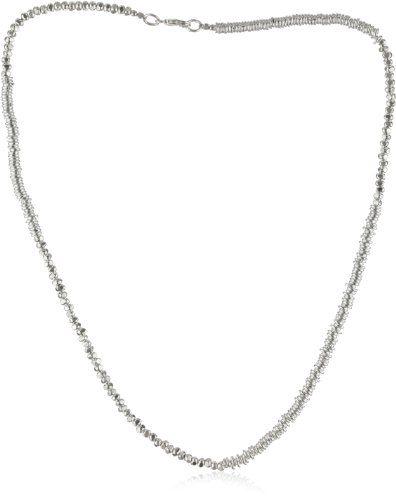 SKU Jewelry Handmade Sterling Silver Necklace, 16 inches