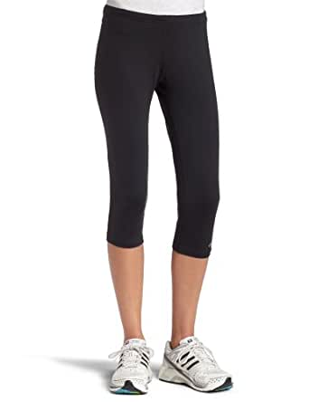 ASICS Women's Performance Running Capri Tight,Black,X-Small