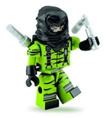 G.I. JOE Kre-O NUNCHUK Kre o Mini Figure - 1