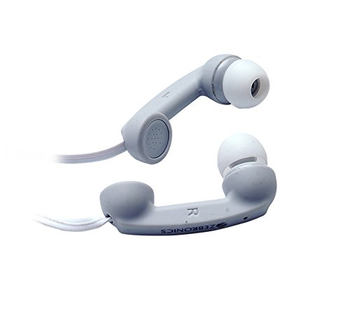 Zebronics Tunes Earphone with Mic (Grey)