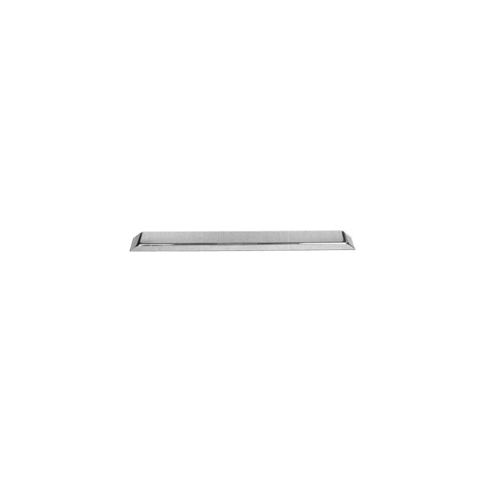 Warrior Products 505C Chrome Rear Bumper for Jeep YJ 87 96