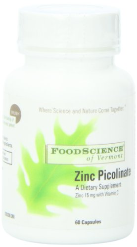 Food Science Of Vermont Zinc Picolinate Capsules, 60 Count
