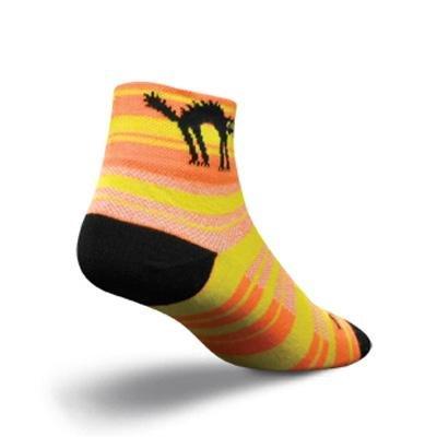Buy Low Price SockGuy Women's 2in Black Cat Cycling/Running Socks (B005TAV96A)