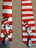 Cat in the Hat Dr Seuss Reversible New Novelty Tie
