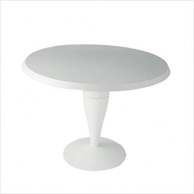 Miss Balù Table Style: Light Grey Large Round Top